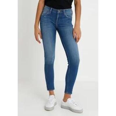 Lee レディースデニム Lee SCARLETT CROPPED - Jeans Skinny Fit - blue