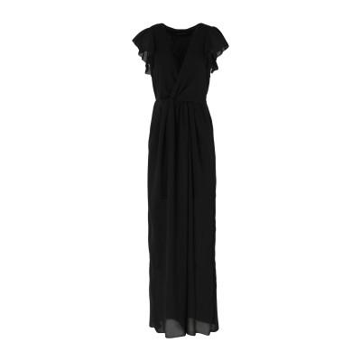 パトリティア ペペ セーラ PATRIZIA PEPE SERA ロングワンピース&ドレス ブラック 40 ポリエステル 100% ロングワンピース
