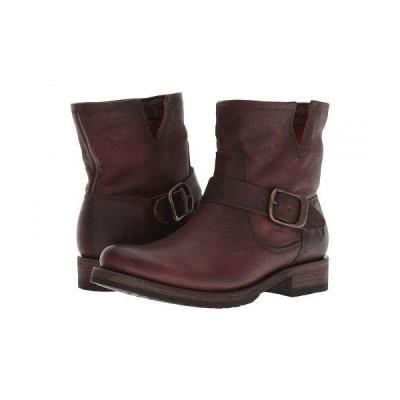 Frye フライ レディース 女性用 シューズ 靴 ブーツ アンクル ショートブーツ Veronica Bootie - Redwood Washed Oiled Vintage