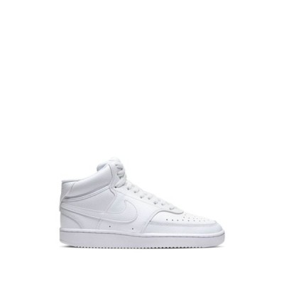 ナイキ レディース スニーカー シューズ Court Vision Mid Sneaker 100 WHITE/WHITE/WHITE