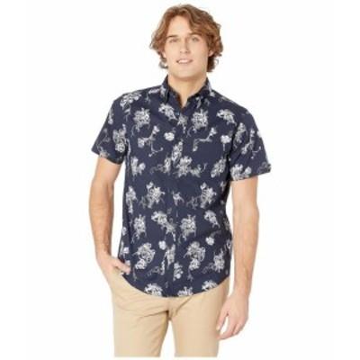 Ben Sherman ベンシャーマン 服 一般 Trop Floral Print Short Sleeve Shirt