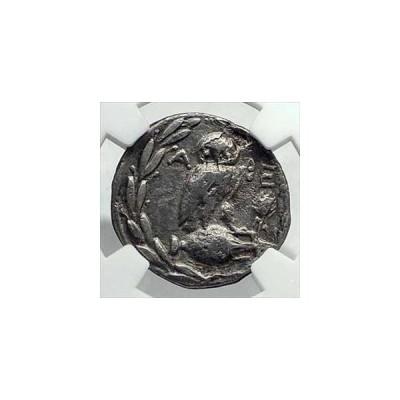金貨 銀貨 硬貨 シルバー ゴールド アンティークコイン アテネギリシャ133BCアテネニュースタイルシルバードラクマギリシャコインOWLNGC i7
