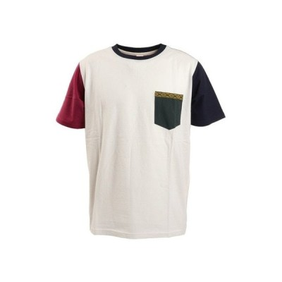 パワー・トゥ・ザ・ピープル(POWER TO THE PEOPLE) OHCOOL チロリアンポケット付きTシャツ T512142-80 A (メンズ)