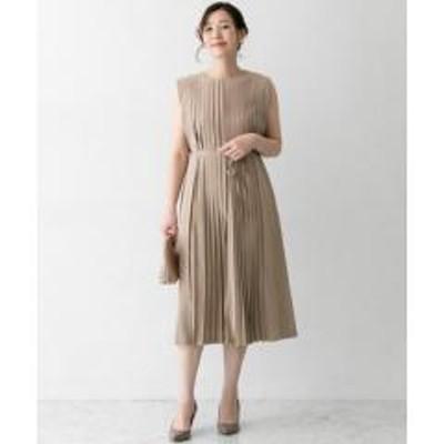 アーバンリサーチロッソセンタープリーツドレス【お取り寄せ商品】