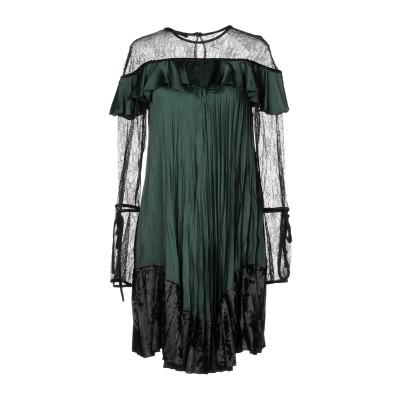アンナリータ エンネ ANNARITA N ミニワンピース&ドレス ミリタリーグリーン 40 ポリエステル 100% / ナイロン / ポリウレタン
