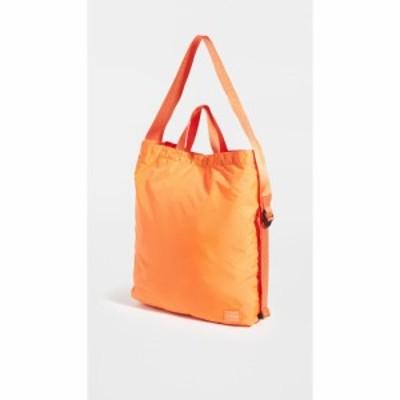 ポーター Porter メンズ ショルダーバッグ バッグ flex 2 way shoulder bag Orange