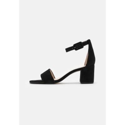 エイチ ジー エル レディース サンダル シューズ INNOCENT - Sandals - schwarz schwarz