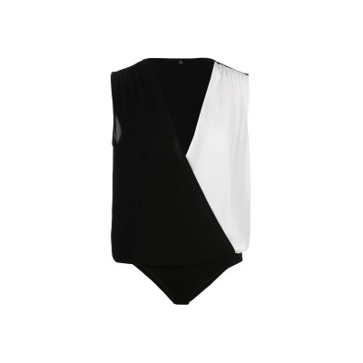 リュー ジョー LIU •JO トップス ブラック 44 ポリエステル 98% / ポリウレタン 2% トップス
