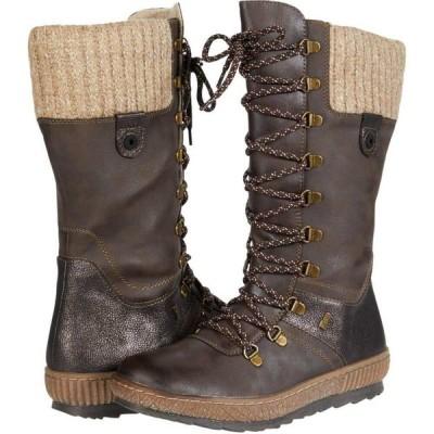 スプリングステップ Spring Step レディース ブーツ シューズ・靴 Chibero Dark Brown