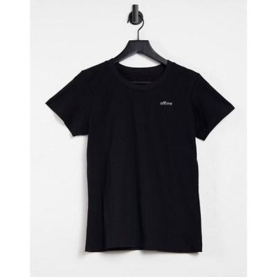 ナイト アディクト レディース シャツ トップス Night Addict offline t-shirt