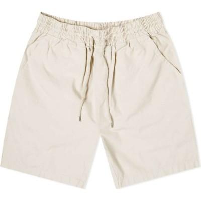 カラフルスタンダード Colorful Standard メンズ ショートパンツ ボトムス・パンツ Classic Organic Twill Short Ivory White