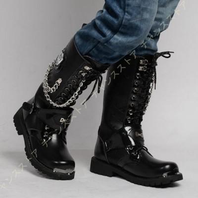 エンジニアブーツ ショートブーツ ブーツ ライダースブーツ メンズ ロングブーツ 大きいサイズ 防滑 ジョッキーブーツ メンズ 乗馬ブーツ ライダーブーツ 長靴