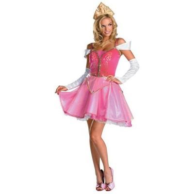 オーロラ姫 衣装 ディズニー 大人用 ドレス プリンセス 眠れる森の美女 プレステージ コスチューム ハロウィン