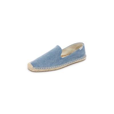 ソルドス Soludos メンズ エスパドリーユ シューズ・靴 Washed Canvas Smoking Slippers Blue