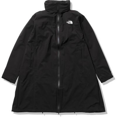 THE NORTH FACE (ノースフェイス) MTY Pickapack Rain Coat (MTYピッカパックレインコート) L BLK レディース NPM12110 K