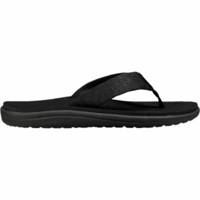 テバ Teva メンズ ビーチサンダル シューズ・靴 Voya Flip Flop Brick Black