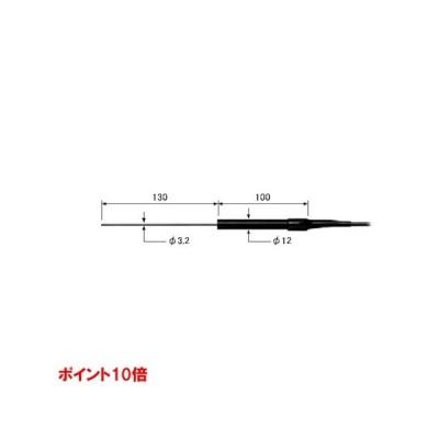 【ポイント10倍】 ライン精機 (LINE) ワイヤタイプ熱電対プローブ(K型) KS-23A