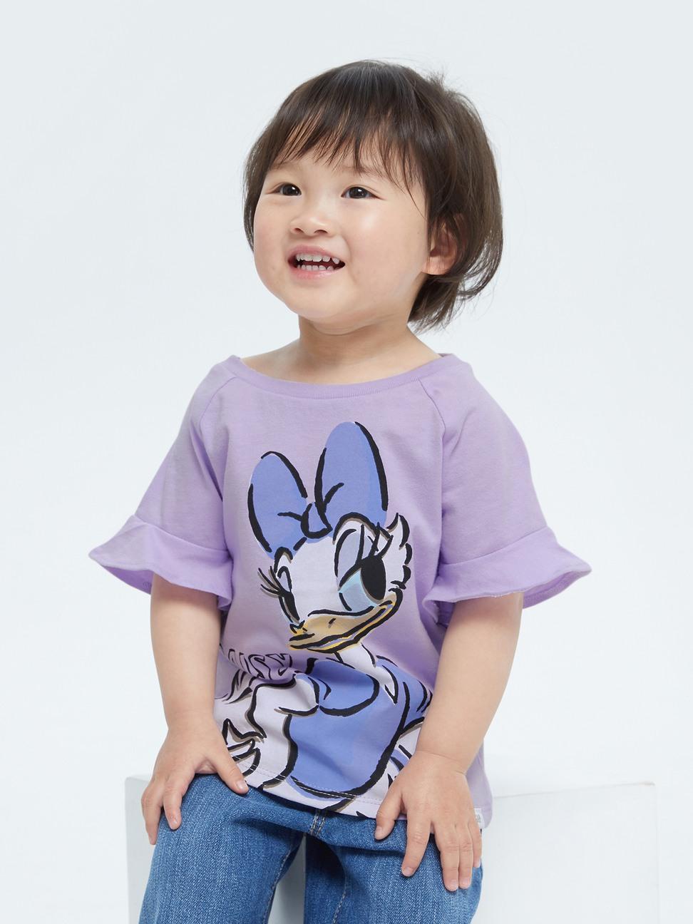 幼童 Gap x Disney 迪士尼系列短袖上衣