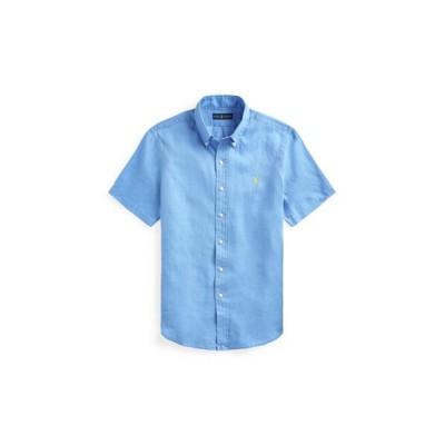 POLO RALPH LAUREN/ポロ ラルフ ローレン クラシック フィット リネン シャツ 430ブルー S
