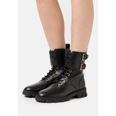マイケルコース レディース ブーツ&レインブーツ シューズ RIDLEY BOOT - Lace-up ankle boots - black black