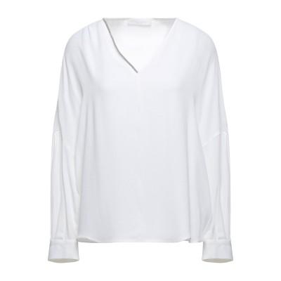 ファビアナフィリッピ FABIANA FILIPPI ブラウス ホワイト 44 アセテート 57% / シルク 43% / エコブラス ブラウス
