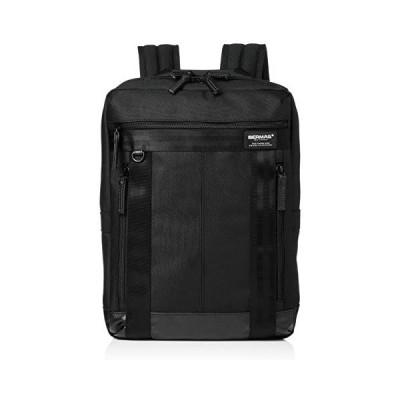 [バーマス] リュック バウアー3 A4サイズ対応 撥水 60067 (ブラック One Size)