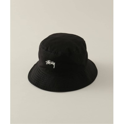 メンズ パルプ 【STUSSY / ステューシー】STOCK BUCKET HAT ブラック フリー