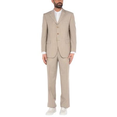 SANREMO スーツ ベージュ 52 バージンウール 100% スーツ