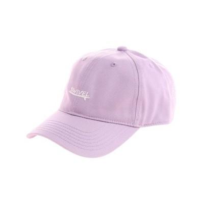 スウィベル(Swivel) 帽子 レディース LOGO TWILL キャップ 898SW0ST6150 PPL 日よけ (レディース)
