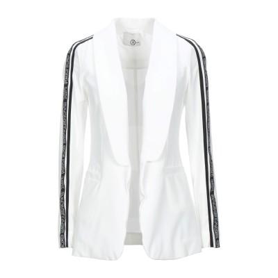 レリッシュ RELISH テーラードジャケット ホワイト 40 ポリエステル 92% / ポリウレタン 8% テーラードジャケット
