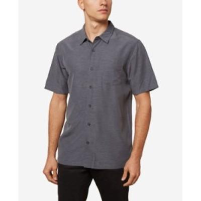 オニール メンズ シャツ トップス Men's Shadowvale Button-Up Shirt Smoke