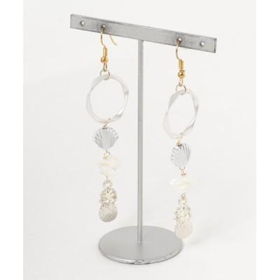 ピアス 【Lira jewelry】ホワイトシェル ピアス