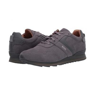 BOSS Hugo Boss ボス メンズ 男性用 シューズ 靴 スニーカー 運動靴 Parkour Low Top Sneaker by BOSS - Medium Grey