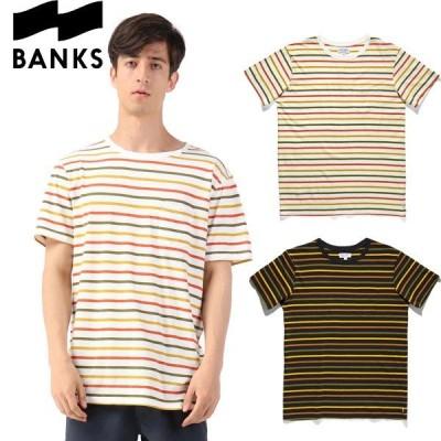 BANKS バンクス PORTAL TEE SHIRT ポータル Tシャツ 半袖 カットソー ボーダー サーフ ブランド メンズ オーストラリア