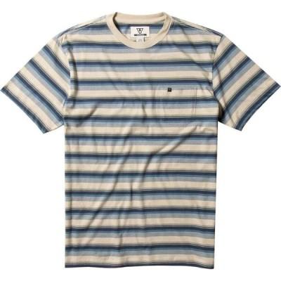 ヴィスラ Vissla メンズ Tシャツ ポケット トップス velva pocket t-shirt Stone Blue