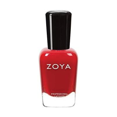 ZOYA ゾーヤ ネイルカラーZP001 CARMEN カルメン 15ml 検定カラー 鮮やかなトゥルーレッド マット 爪にやさしいネイルラ