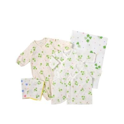 (MIKI HOUSE HOT BISCUITS/ミキハウスホットビスケッツ)HB☆出産準備スターター5点セット(50cm)/ アイボリー