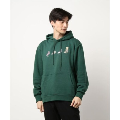 THRASHER by RIFFLEPAGE / Shoes Evolution Hooded Pullover/BROTHER MERLE ブラザーマール パーカー プルオーバー MEN トップス > パーカー