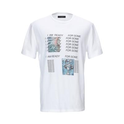 パオロ ペコラ PAOLO PECORA T シャツ ホワイト S コットン 100% T シャツ