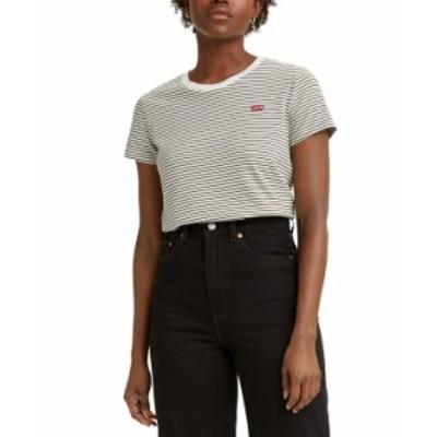 リーバイス レディース シャツ トップス Women's The Perfect Crewneck T-Shirt Kadlong Safari