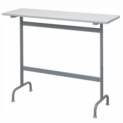 リフレッシュハイテーブル W1200×D400 ホワイト RFRT-HT1240WH アールエフヤマカワ RFyamakawa 商談 会議室 打ち合わせ 休憩室 コーヒーテーブル オフィス家具