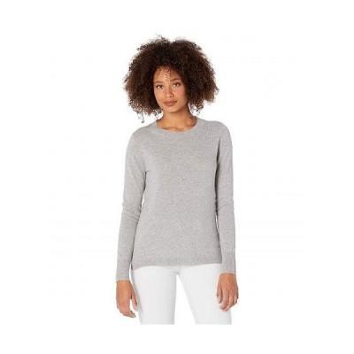 J.Crew レディース 女性用 ファッション セーター Cashmere Crew Neck Sweater - Heather Grey
