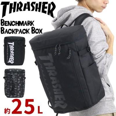 バックパック THRASHER リュック スラッシャー 正規品 リュックサック デイパック スクエアリュック 黒リュック 通学通勤 メンズ レディース ブランド 旅行