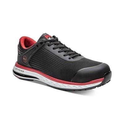 ティンバーランド スニーカー シューズ メンズ Men's Safety-Toe Industrial Athletic Sneakers Black/Red