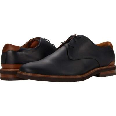 フローシャイム Florsheim メンズ 革靴・ビジネスシューズ シューズ・靴 Highland Plain Toe Oxford Black Crazy Horse/Brown Sole