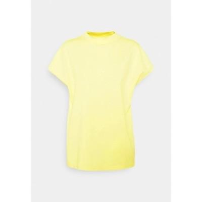 ウィークデイ Tシャツ レディース トップス PRIME - Basic T-shirt - yellow