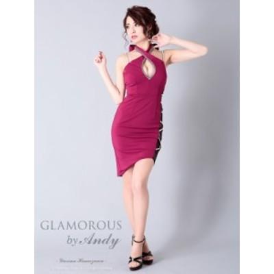 GLAMOROUS ドレス GMS-V637 ワンピース ミニドレス Andyドレス グラマラスドレス クラブ キャバ ドレス パーティードレス