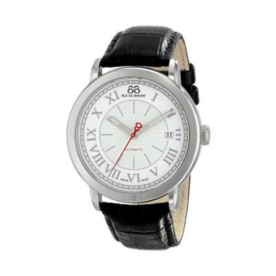 88 Rue du Rhone メンズ 87WA120033 アナログディスプレイ スイス 自動巻き シルバー 腕時計