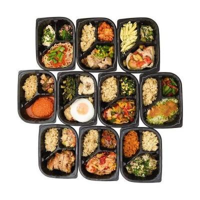 マッスルデリ 管理栄養士監修ボディメイクフード LEAN 10食セット (HI:キーマカレー他)