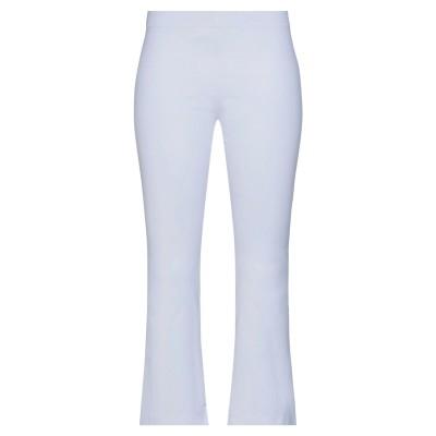 ES'GIVIEN パンツ ホワイト S レーヨン 69% / ナイロン 28% / ポリウレタン 3% パンツ